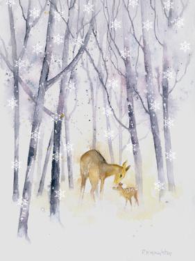 Snowflake Forest Deer by Rachel McNaughton