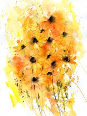 Washy Rudbeckia by Rachel McNaughton
