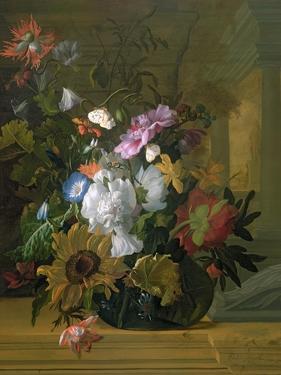 Flower Still Life by Rachel Ruysch