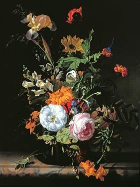 Still Life of Summer Flowers by Rachel Ruysch