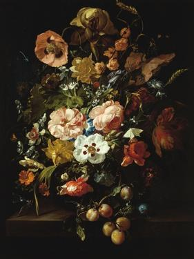 Still Life with Flowers and Fruit by Rachel Ruysch