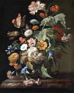 Still Life with Flowers by Rachel Ruysch
