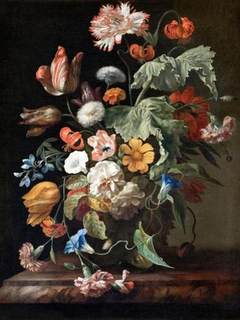 Still-Life with Flowers by Rachel Ruysch
