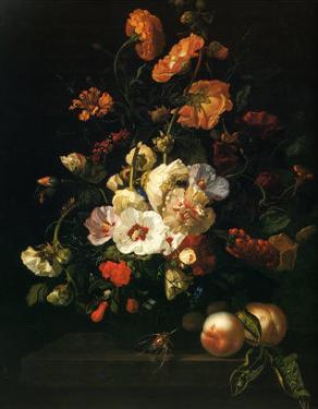 Vase de Fleurs, 1701 by Rachel Ruysch