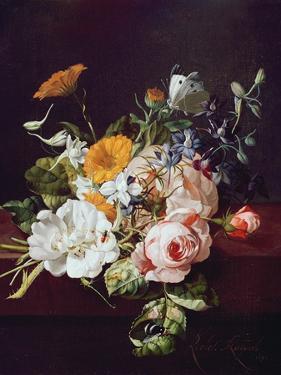 Vase of Flowers, 1695 by Rachel Ruysch