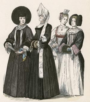 Racial, Swiss Women C1700