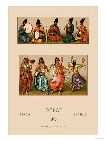 Festive Dress of Persia