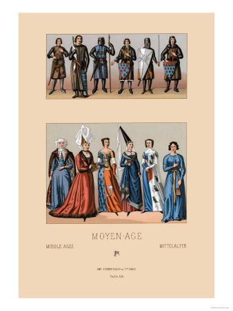 Knights and Maidens of the Middle Ages