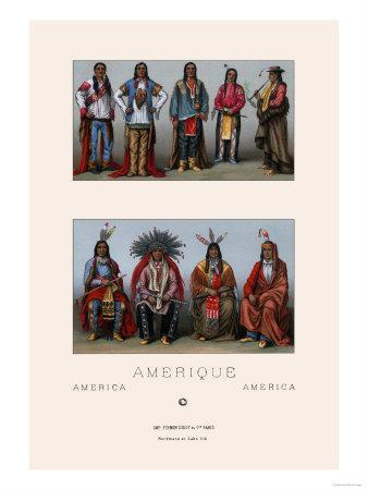 Native Americans of Mississippi and Colorado