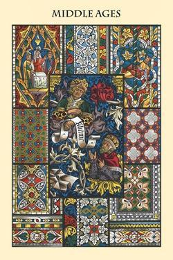 Ornament-Middle Ages by Racinet
