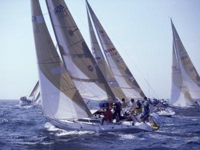 Racing Yachts Newport Rhode Island, USA
