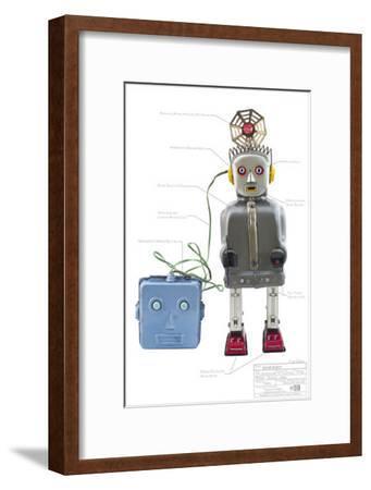 Radar Robot--Framed Masterprint