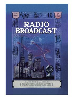 Radio Broadcast, Building the R.B. Lab Receiver