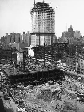 Radio City Music Hall under Construction