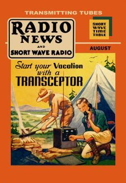 Radio News and Short Wave Radio: Start Your Vacation with a Transceptor