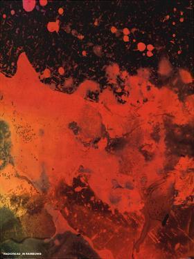 Radiohead - In Rainbows Music Poster