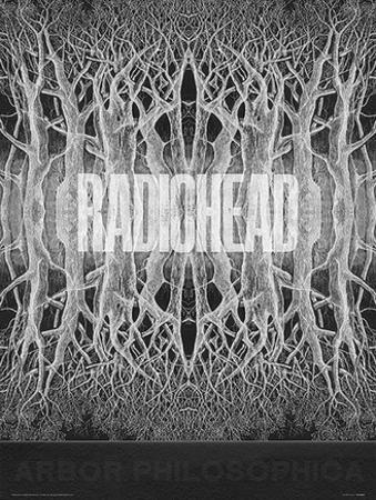 Radiohead - King Of Limbs Music Poster