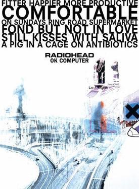 Radiohead OK Computer Huge Music Poster