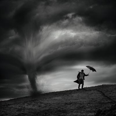 Man in the Wind by Radovan Skohel