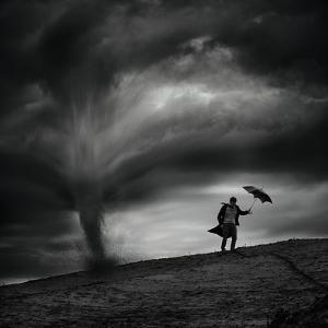 Man in the Wind by Radovan Skohel
