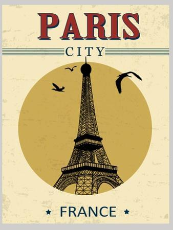 Eiffel Tower Tower From Paris Poster by radubalint