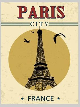 Eiffel Tower Tower From Paris Poster by radubalint