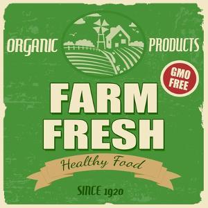 Farm Fresh Poster by radubalint