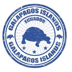 Galapagos Islands Stamp by radubalint