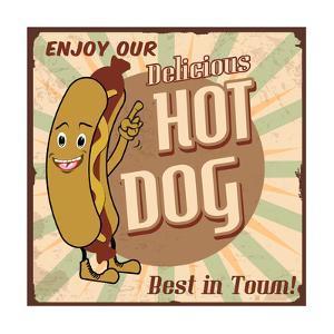 Hot Dog Poster by radubalint