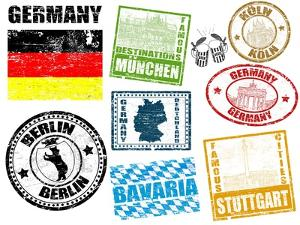 Stamps With Germany by radubalint