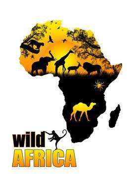 Wild Africa Poster by radubalint