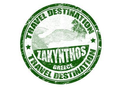 Zakynthos Stamp by radubalint