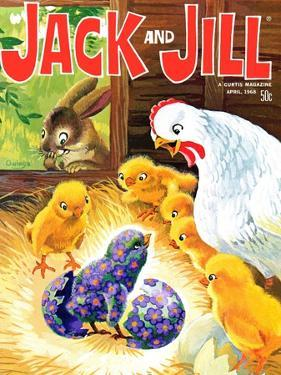Easter Surprise - Jack and Jill, April 1968 by Rae Owings
