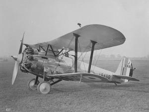 "RAF ""Bristol"" Bulldog Fighter Plane"