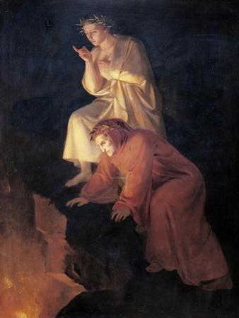 Dante and Virgil, 1855