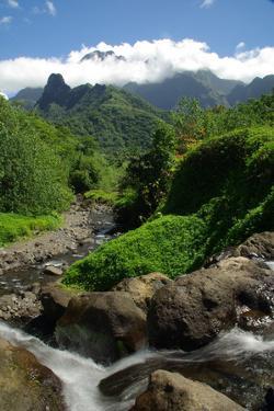 Tahiti Mountains by rafcha