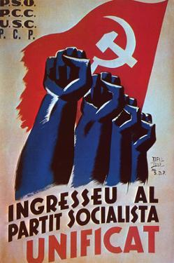 Join the United Socialists Party by Rafel Tona