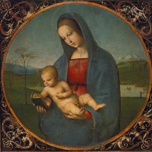 Madonna Conestabile by Raffael