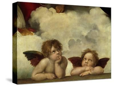 Putti, Detail from the Sistine Madonna
