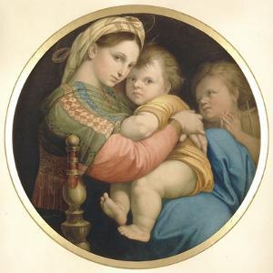La Vierge �a Chaise by Raffaello Sanzio