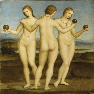 Les trois Grâces by Raffaello Sanzio