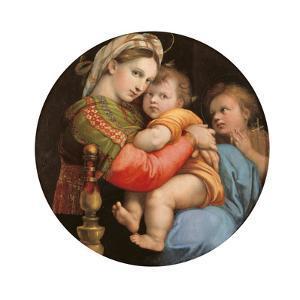 Madonna of the Chair by Raffaello Sanzio