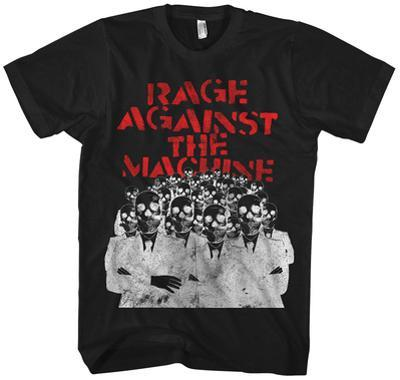 Rage Against the Machine- Skeleton Heads