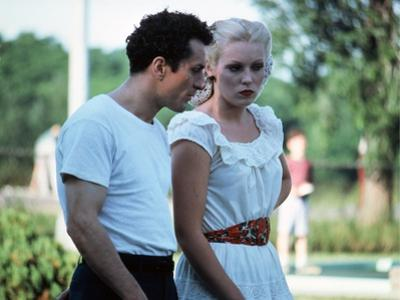 Raging Bull by Martin Scorsese with Robert by Niro and Cathy Moriarty, 1980 (photo)