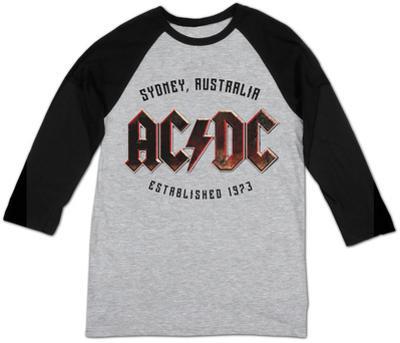 Raglan: AC/DC- Sydney, Australia Est. 1973