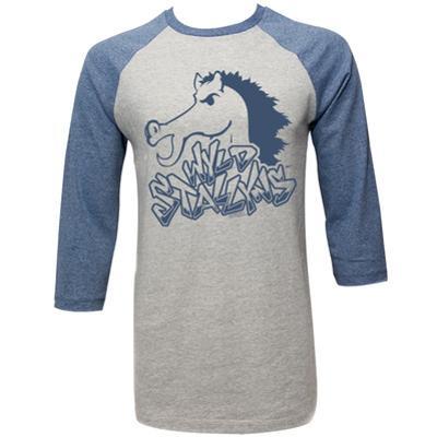 Raglan: Bill And Ted - Blue Stallion