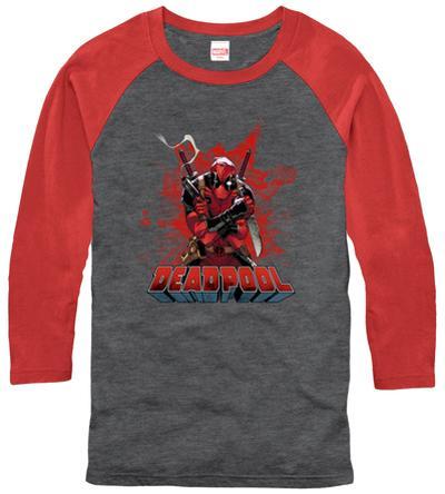 Raglan: Deadpool- Center Of The Action