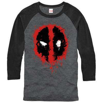 Raglan: Deadpool- Splatter Icon