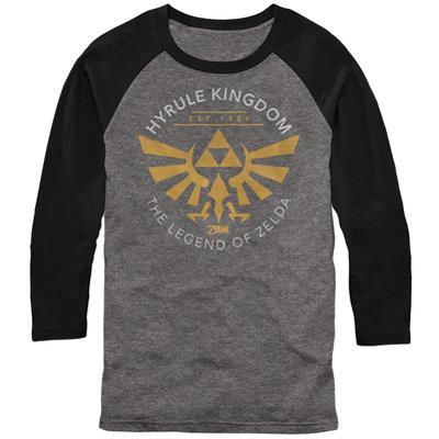 Raglan: Legend Of Zelda- Hyrule Kingdon Est 1986