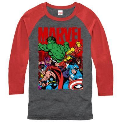 Raglan: Marvel- Classic Team